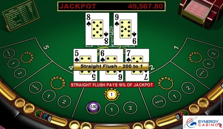 ONLINE VIDEO POKER ZADARMO - Synergy Casino